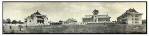 University of Nanking, Salah satu Universitas Tertua dan Terbaik yang dibangun oleh para Misionaris Protestan. Dr. Mochtar Riady merupakan salah seorang lulusan Universitas Nanking